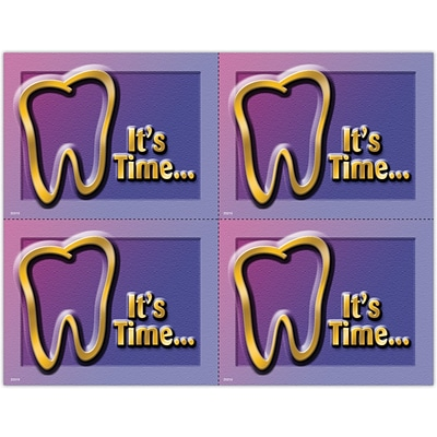 Gentle Dental Laser Postcards; Its Time, Tooth