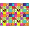 Graphic Image Laser Postcards, Smile Patchwork