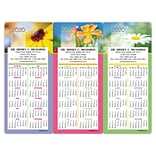 Easy Hang Calendar; Flowers