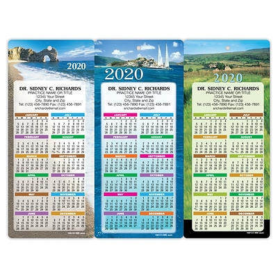 Easy Hang Promotional Calendar Assortment Packs; Coast and Prairie