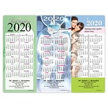 Magnetic Strip Back Dental Promotional Calendars Assortment Packs; Dental Prof