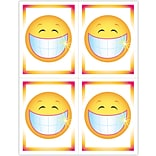 Graphic Image Laser Postcards; Smiley Face with Teeth