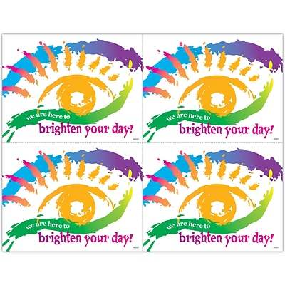 Graphic Image Laser Postcards; Brighten Your Day