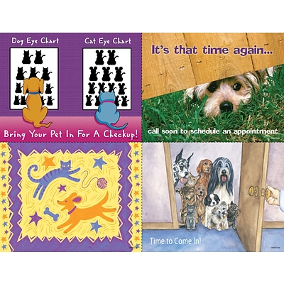 Veterinary Assorted Laser Postcards; Time Again
