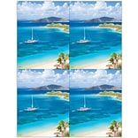 Photo Image Laser Postcards, Sailboat