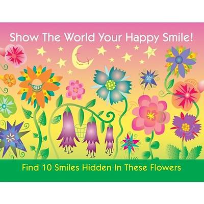Patient Interactive Laser Postcards, Find 10 Smiles