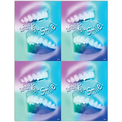 Hygienist Laser Postcards; Refresh Your Smile