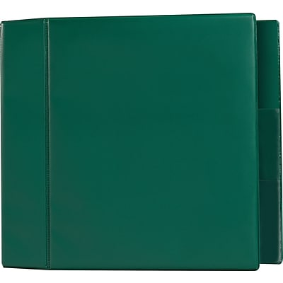 5 Heavy-Duty Binder with D-Rings, Green