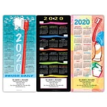 Dental Easy Hang Promotional Calendars Assortment Packs; Bright Dental Themes