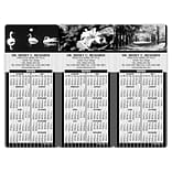 Easy Hang Promotional Calendars Assortment Packs; Black & white