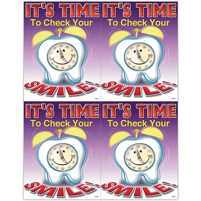 Graphic Image Laser Postcards, It™s Time to Check Your Smile