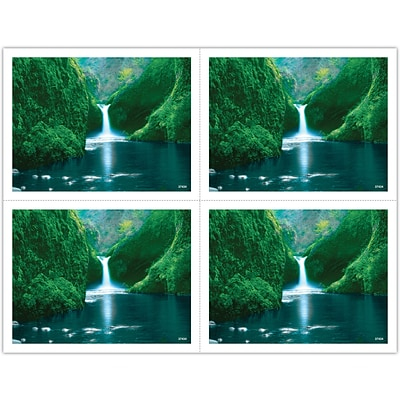 Generic Laser Postcards; Jungle Waterfall