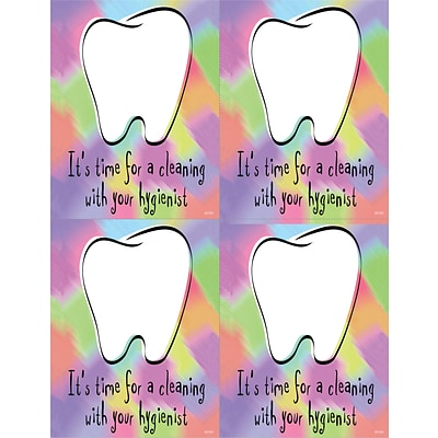 Hygienist Laser Postcards; Time for a Cleaning