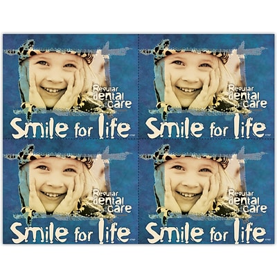 Cosmetic Dentistry Laser Postcards; Smile For Life
