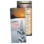 Chiropractic Holiday Calendar Cards; New Year Path