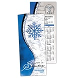 Chiropractic Holiday Calendar Cards; Snowflake