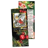 Holiday Calendar Cards; Healthy New Year