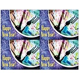 Graphic Image Laser Postcards, Holiday Series, New Year
