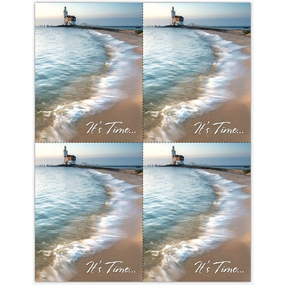 Scenic Laser Postcards, Scenic Lighthouse