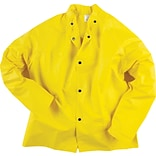 Neese® Universal 35 Series Flame Resistant Jacket With Snaps On Collar, Yellow, Large