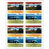 Mountain/Shoreline Generic Laser Postcards