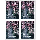 Flowering Tree Reminder Generic Lsr Postcard