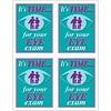 Graphic Image Laser Postcards; Eye Graphic Family