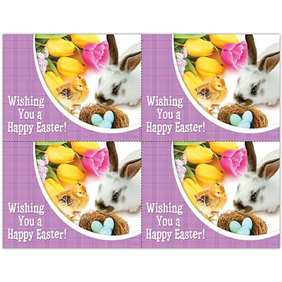 Photo Image Laser Postcards, Holiday Series, Easter