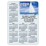 Calendar Magnets; 5x7, Large Print, Sailboat