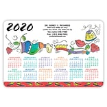 Calendar Magnets; 4x6, Dental Doodle
