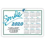 Medical Arts Press® Stickie™ Calendars; 4x6, Smile Paste
