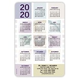 Calendar Magnets; 4x6, Eye Blocks