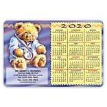 Calendar Magnets; 4x6, Teddy Bear