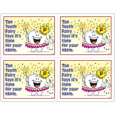 Smile Team™ Laser Postcards; Tooth Fairy