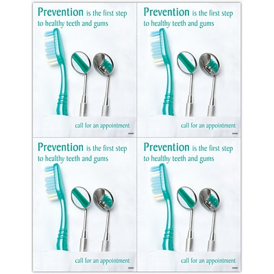 Preventive Laser Postcards, Dental Tools