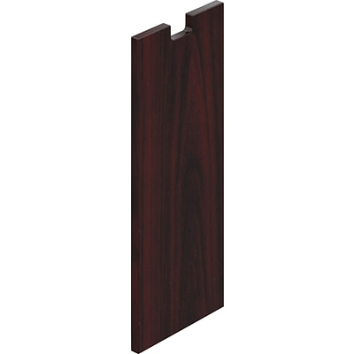 Offices To Go® 12 Wide Half End Panel, American Mahogany, 28H x 12W x 1D