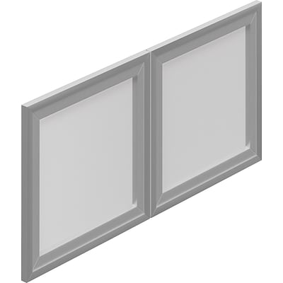 Offices To Go® 36 Wide Doors For SL36HO and SL36WC, Silver, 1H x 36W x 12D