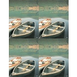 Wooden Boats Generic Laser Postcards