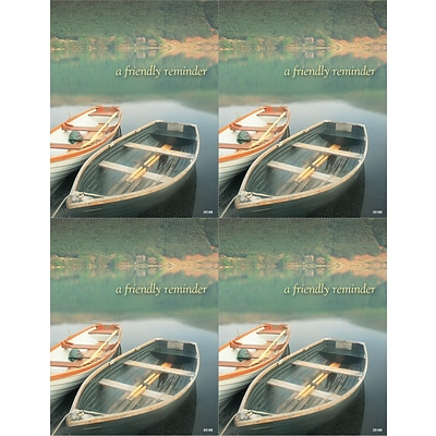 Generic Laser Postcards; Wooden Boats