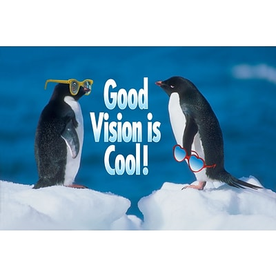 Humorous Laser Postcards; Good Vision is Cool