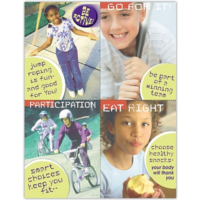 Medical Assorted Laser Postcards; Healthy Kids
