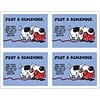 Graphic Image Laser Postcards; Dog with Phone
