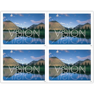 Scenic Laser Postcards, Vision We Care About