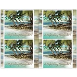 Photo Image Laser Postcards, Holiday Series, Palm Trees
