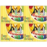 Photo Image Laser Postcards, Birthday