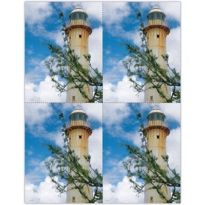 Photo Image Laser Postcards, Lighthouse Branch