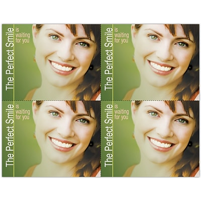 Photo Image Laser Postcards, Perfect Smile Waiting