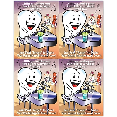 Smile Team™ Laser Postcards, Piano Player