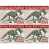 Graphic Image Laser Postcards, Restore and Rejuvenate Dino