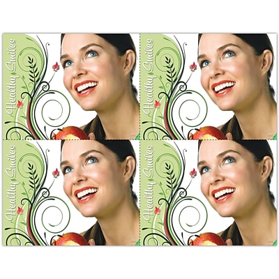 Cosmetic Dentistry Laser Postcards, Healthy Smiles